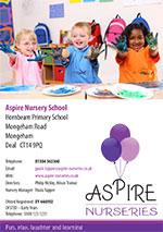Aspire Nurseries - Nursery School in Mongeham, Deal, Kent
